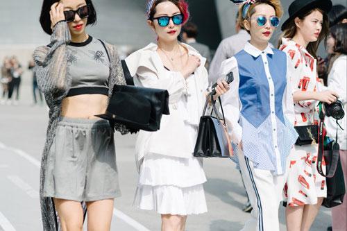phong cách thời trang Monochrome